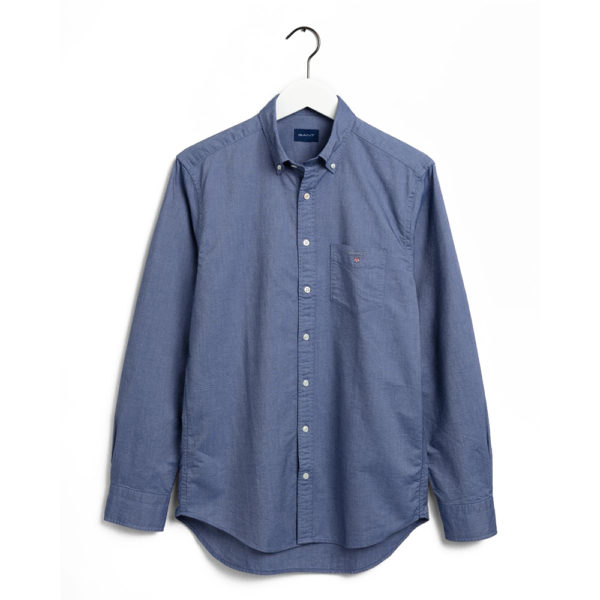 GANT Regular Fit Oxford Shirt P blue