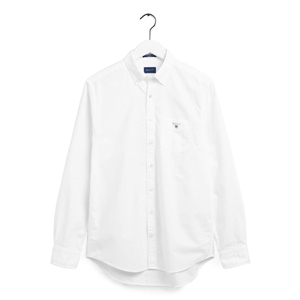 GANT Regular Fit Oxford Shirt white