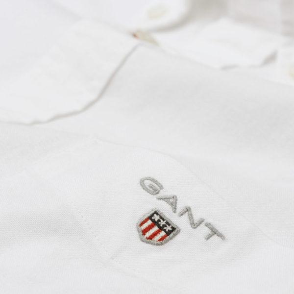 GANT Regular Fit Oxford Shirt white4