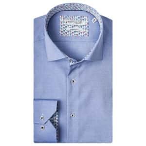 Giordano Baggio LS cutaway modern light blue shirt