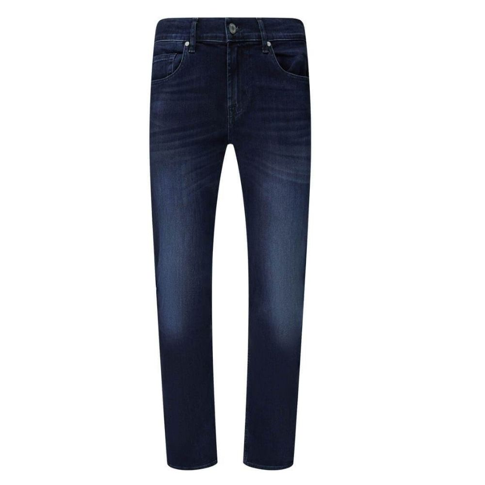 7 FOR ALL MANKIND JEANS SLIMMY LUXE PERFORMANCE DARK BLUE
