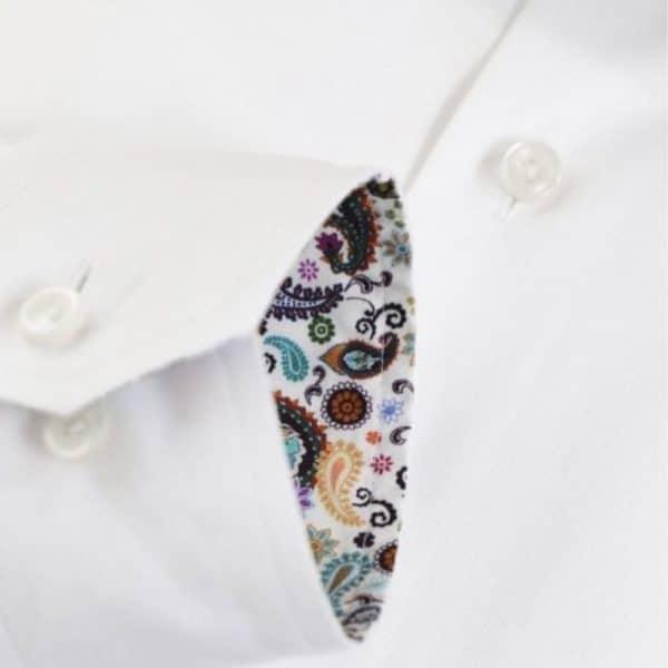 Eton shirt paisley cuff