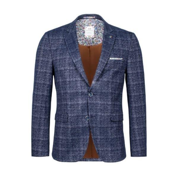 Giordano blue check blazer