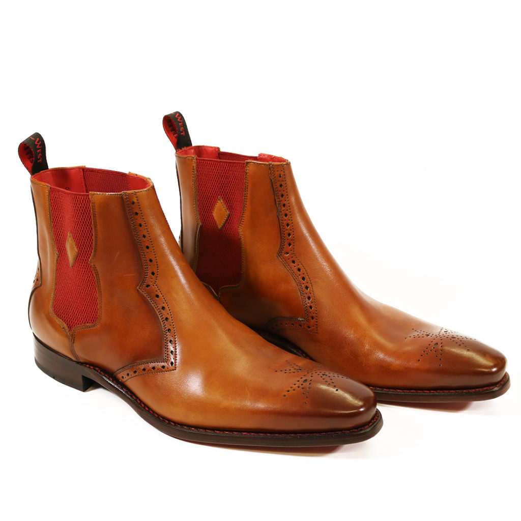 HUNGER BOWIE CHELSEA BOOT caramel