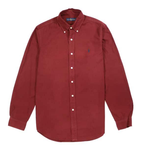 Polo Ralph Lauren Burgundy button down shirt