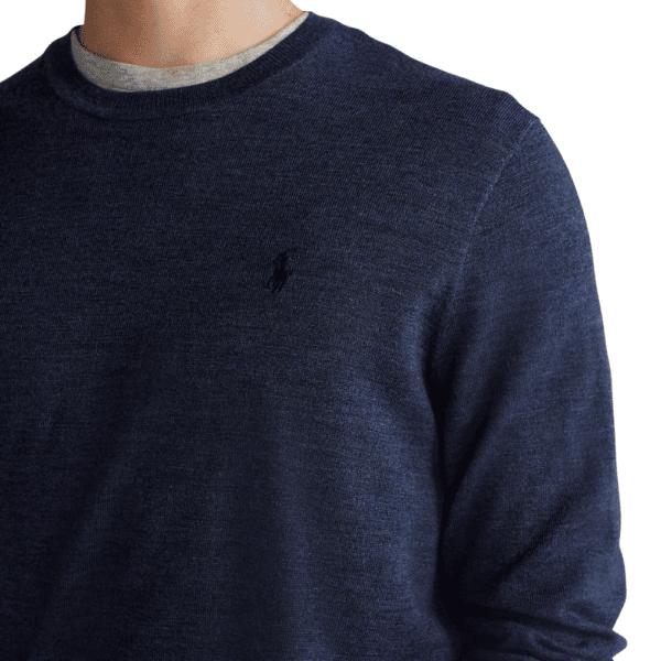 Polo Ralph Lauren Merino Wool Navy detail