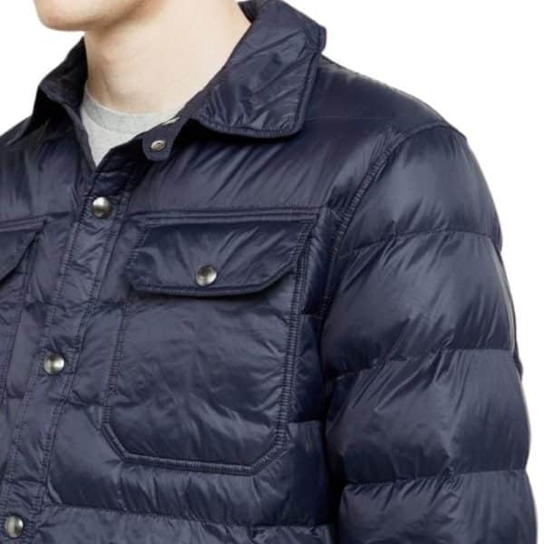 Ralph Lauren Terra Navy Down jacket detail 2