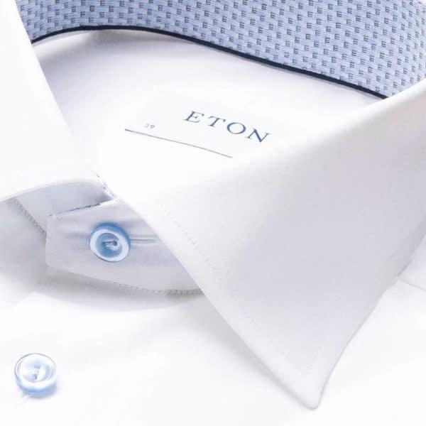 eton shirt monogram collar