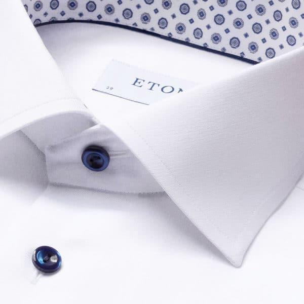 eton white twill shirt collar1
