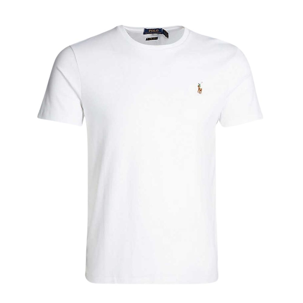 ralph lauren white t shirt front