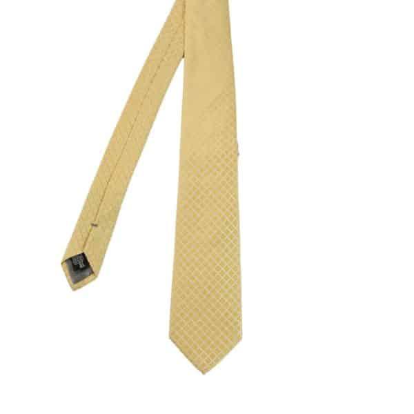 Armani Collezioni Diamond Quilt Tie Yellow main