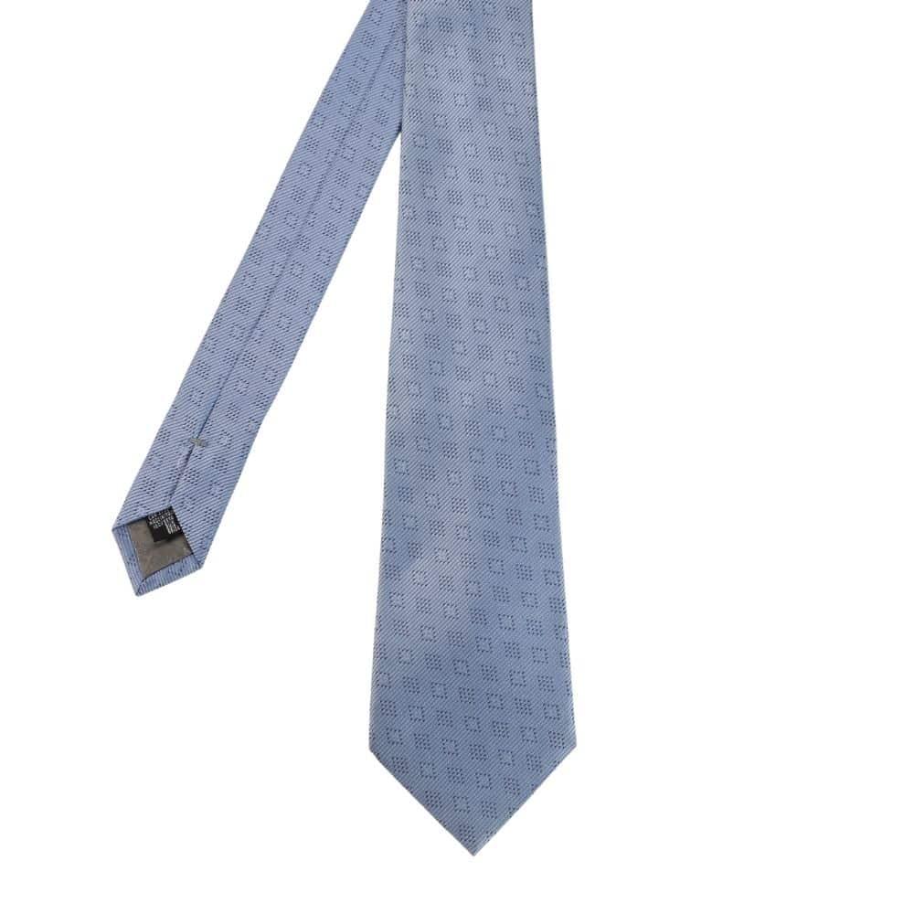 Armani Collezioni Tie tonal diamond light blue main