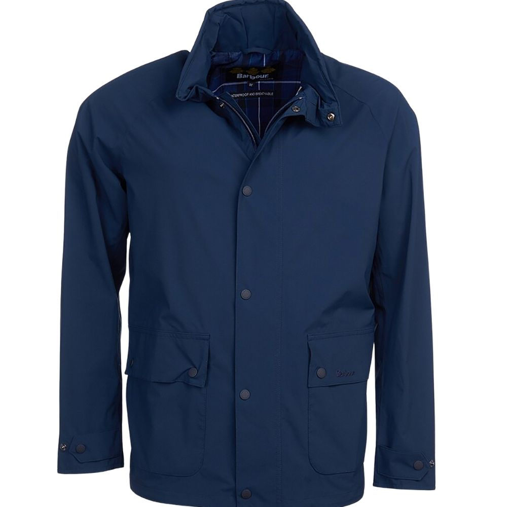 Barbour Sorrel Jacket Navy Front 1