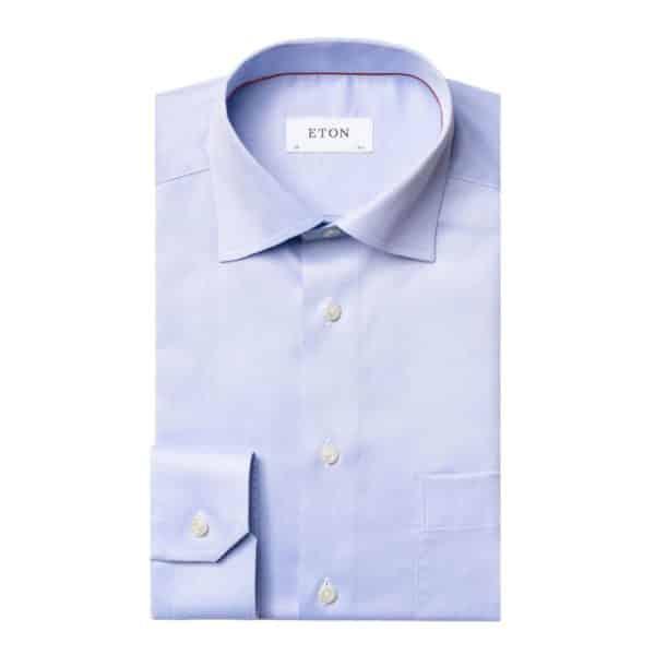 ETON shirt classic light blue2