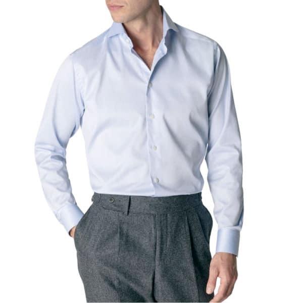 Eton Shirt light blue signature royal twill