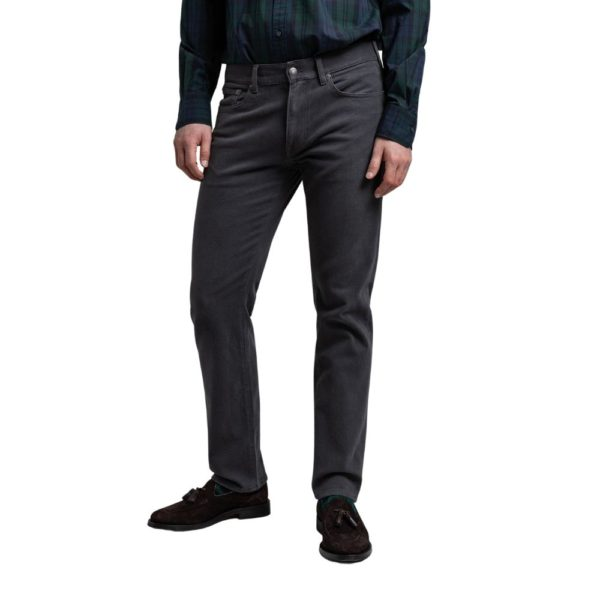 Gant Jeans twill anthracite 2