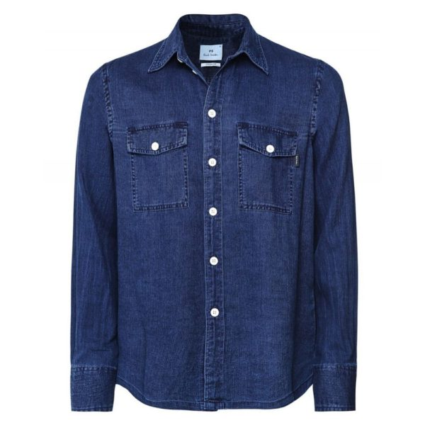 Paul smith denim shirt casual fit