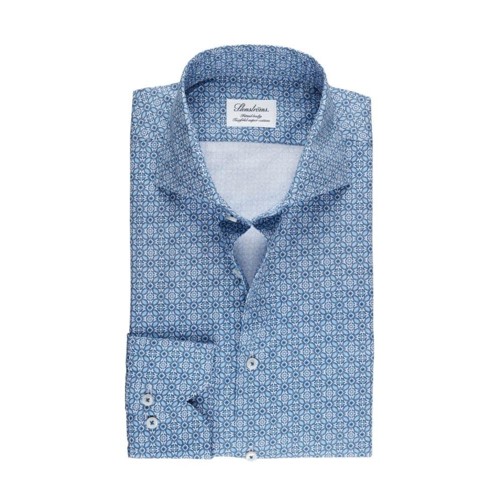Stenstroms Blue shirt front