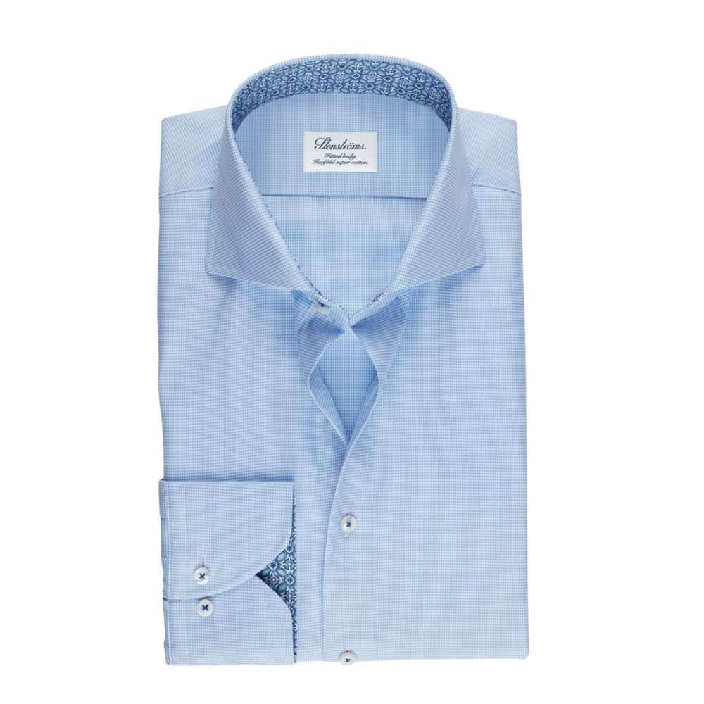 Stenstroms Light Blue Shirt Front