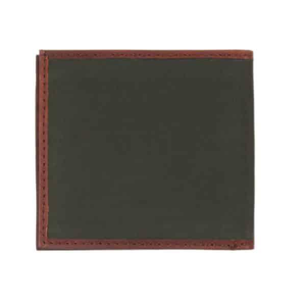 barbour drywax billfold wallet back