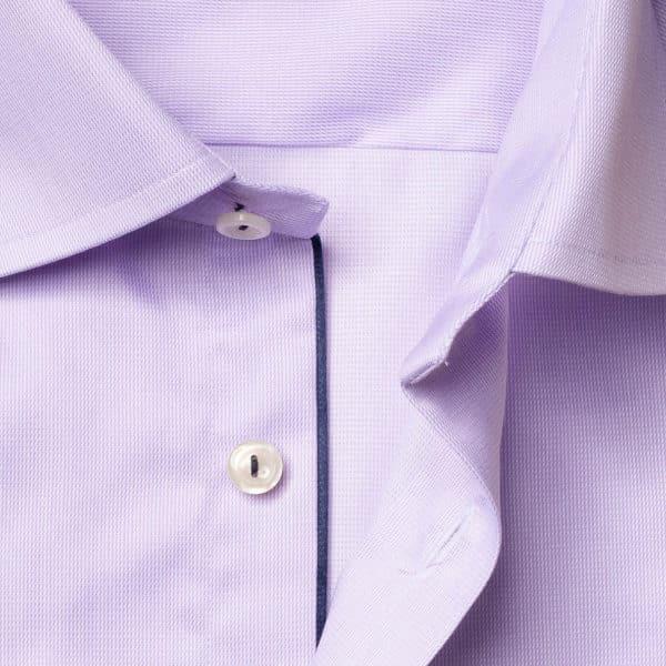 eton shirt royal twill ligh purple