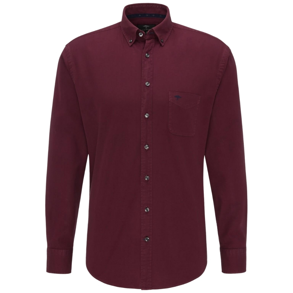 fynch hatton red shirt front