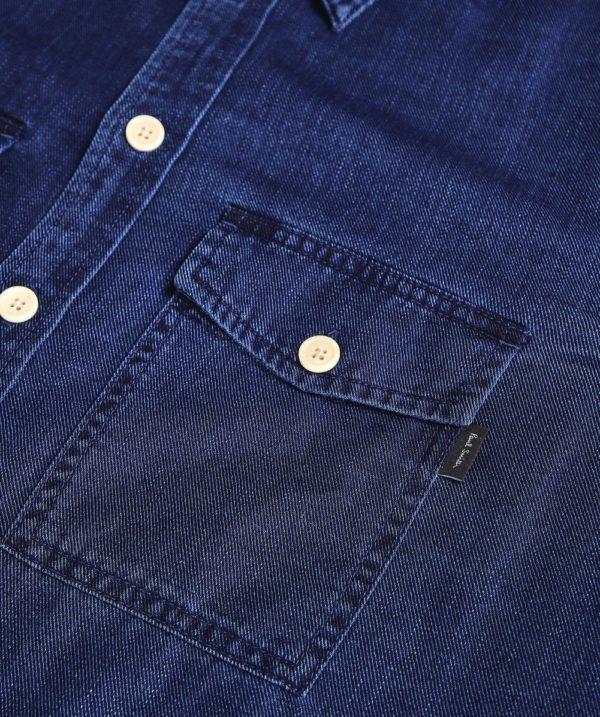 paul smith denim shirt detail