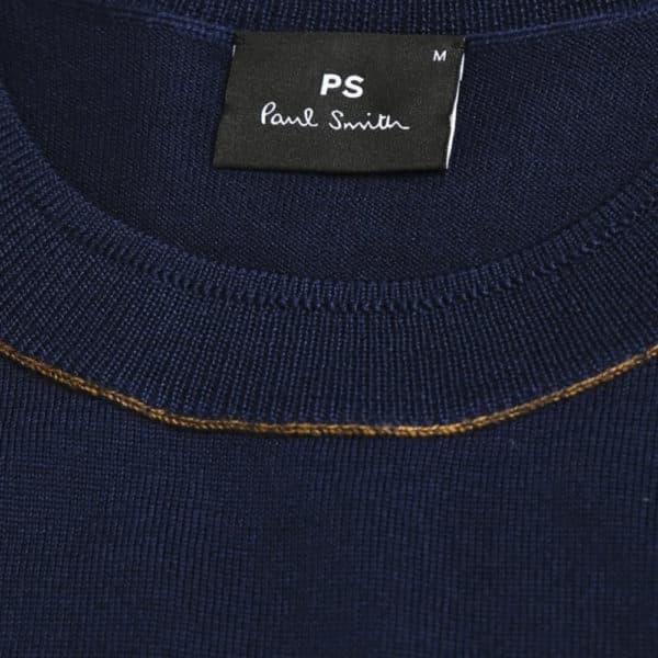 paul smith hnavy pullover collar