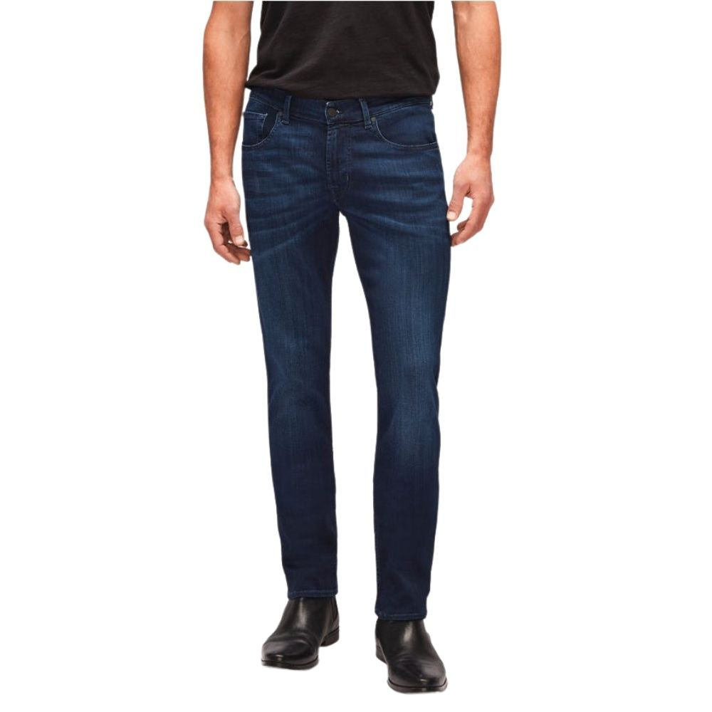 7 FOR ALL MANKIND SLIMMY LUXE PERFORMANCE PLUS DEEP BLUE