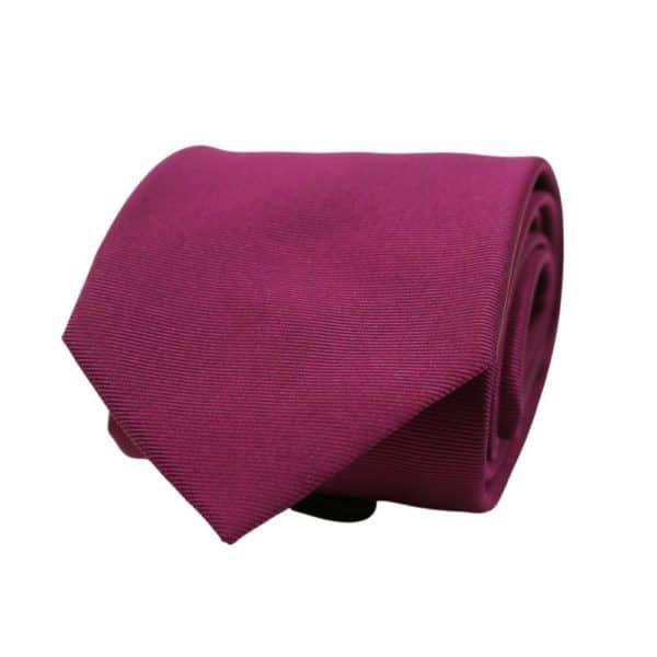 Boss Solid Tie Violet 1
