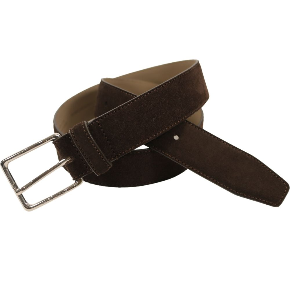 Catioso Dark Brown suede Belt