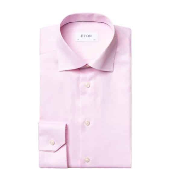 Eton shirt Pink Signature Twill