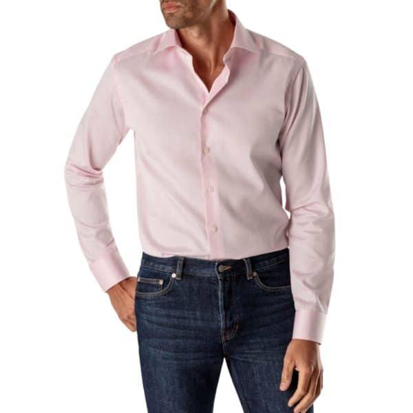 Eton shirt Pink Signature Twill2
