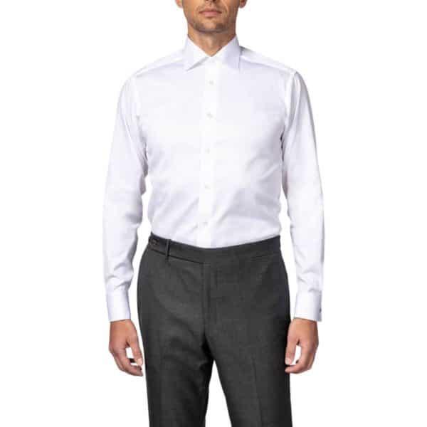 Eton shirt signature twill white french cuff1 copy