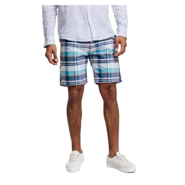 GANT Regular Madras Check shorts 1