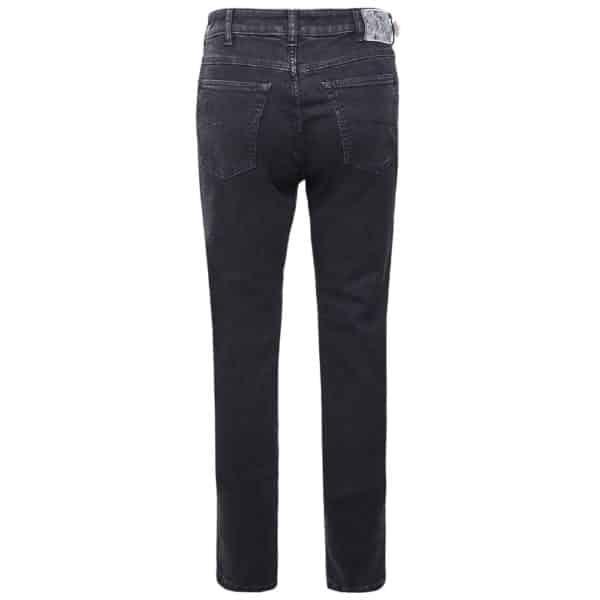 MMX Phoenix Jeans Slim Fit Stretch Black back