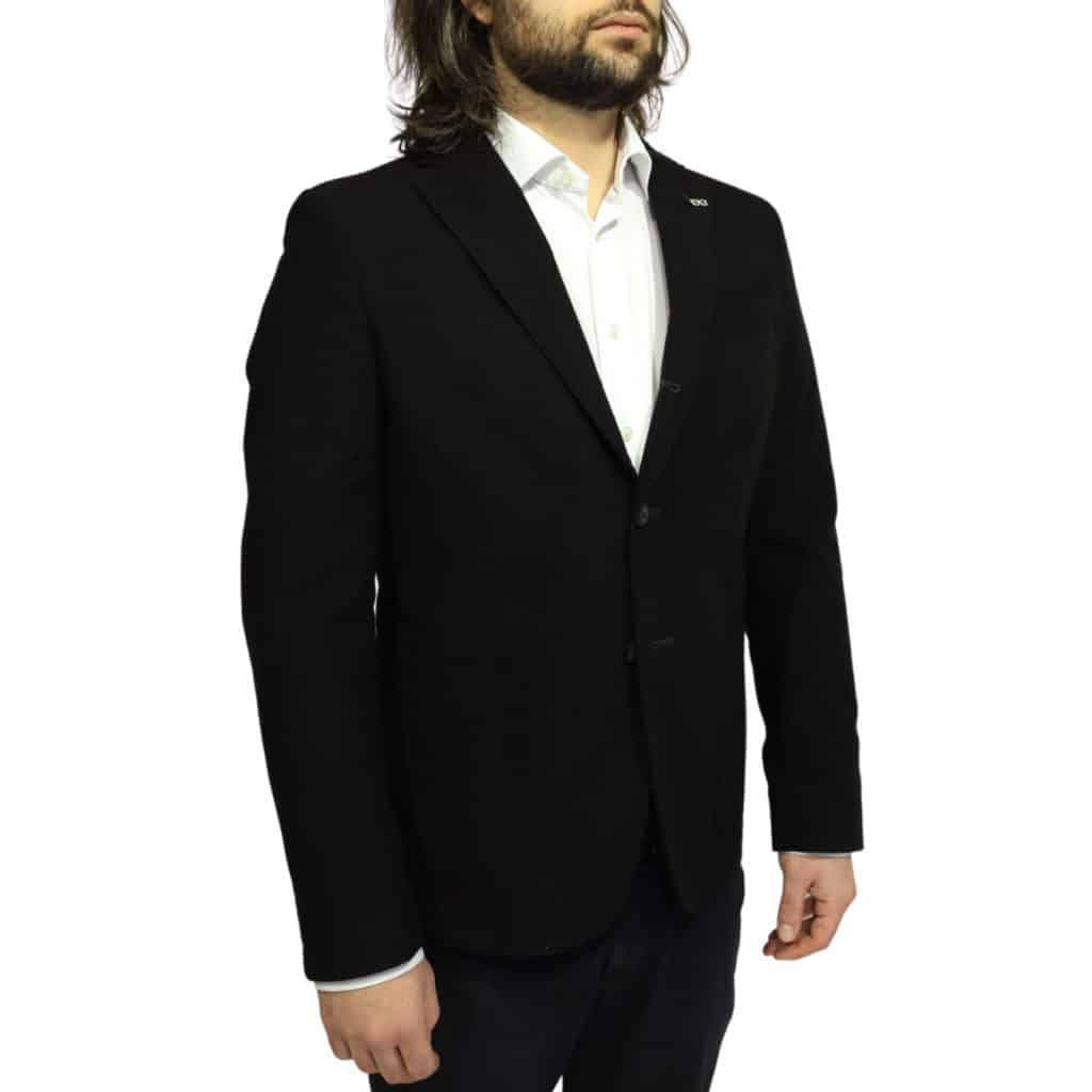 Manuel Ritz Black blazer jacket front1