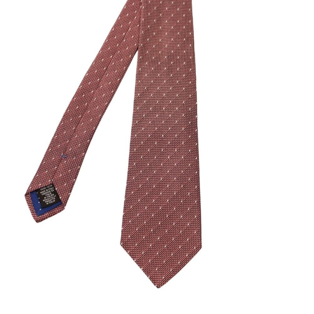 Silvio Fiorello Squares Tie Pink 2
