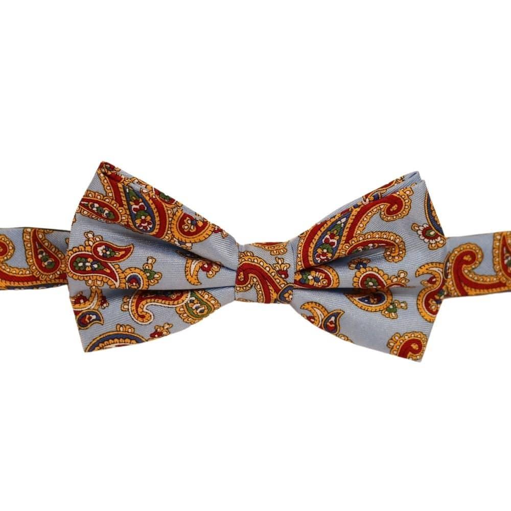 Warwicks Bow tie blue Indian design