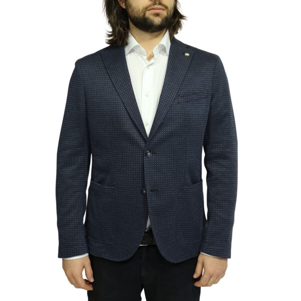 manuel ritz navy blazer front 1