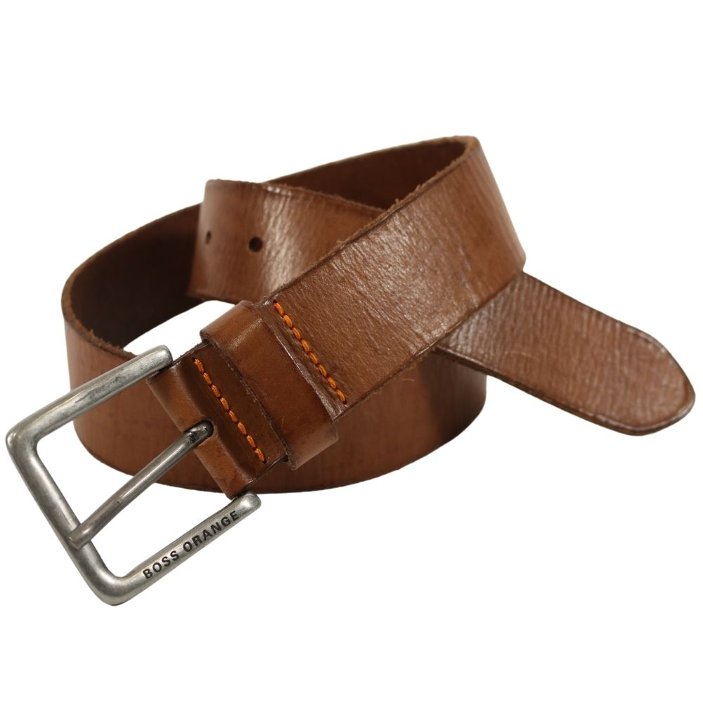 Boss Jeek Leather Belt Tan 1