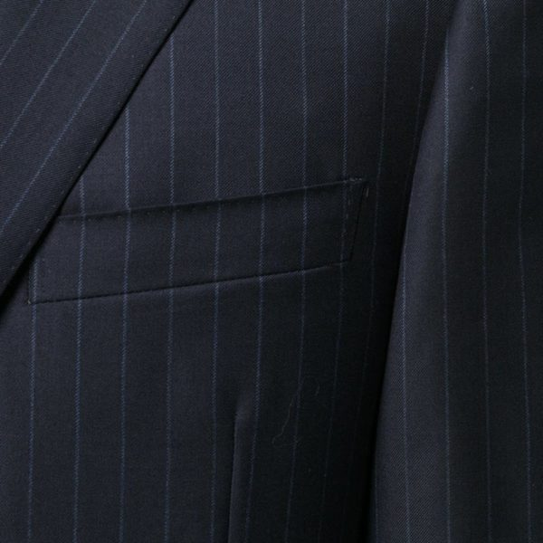 CANALI NAVY PINSTRIPE SUIT 1