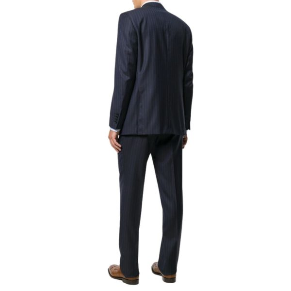 CANALI NAVY PINSTRIPE SUIT 3