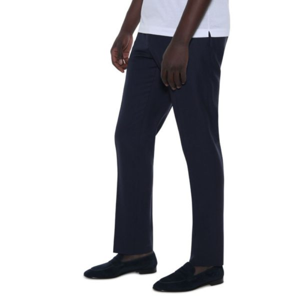 CANALI NAVY WOOL TROUSE 1