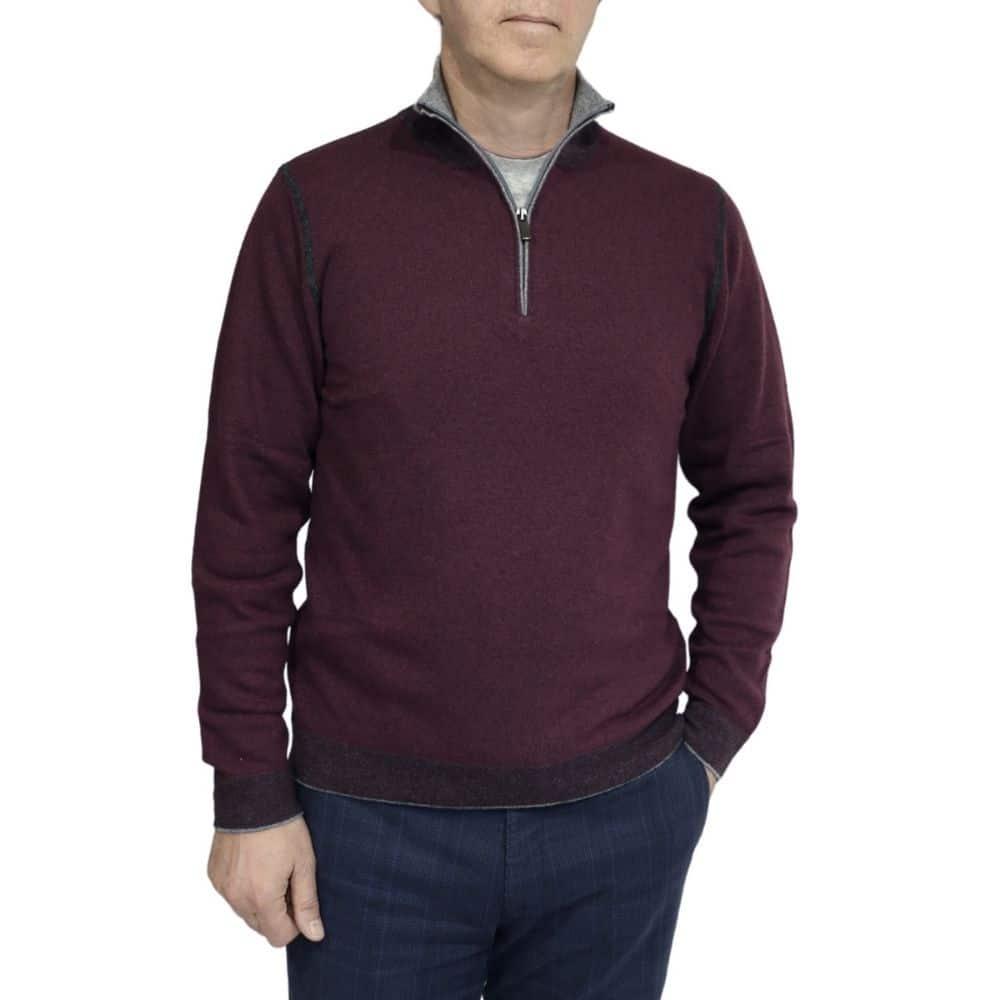 Codice sweater burgundy 2