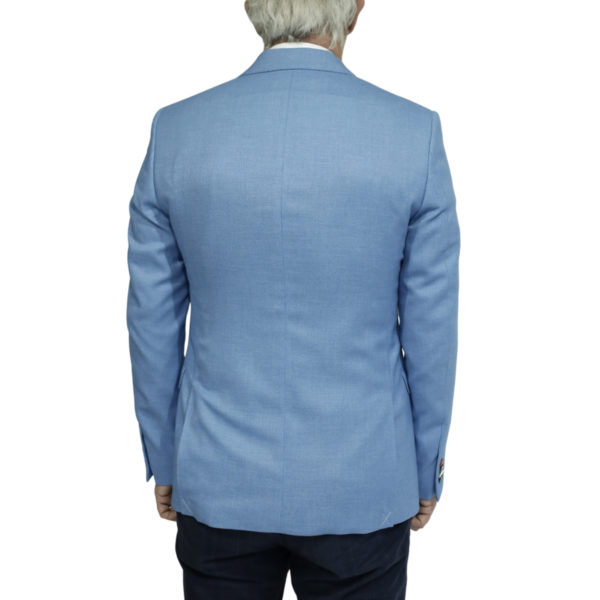 Giordano blue blazer jacket back