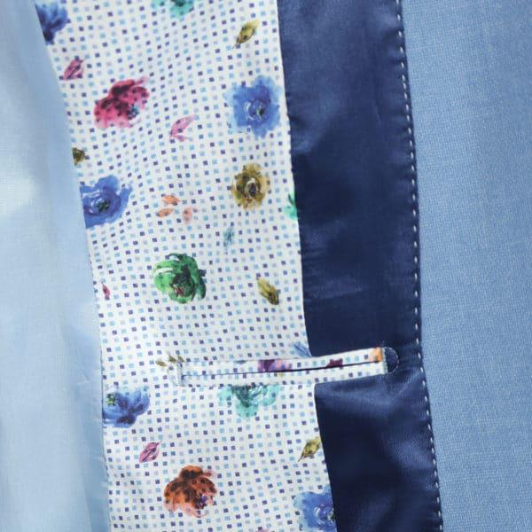 Giordano blue blazer jacket lining