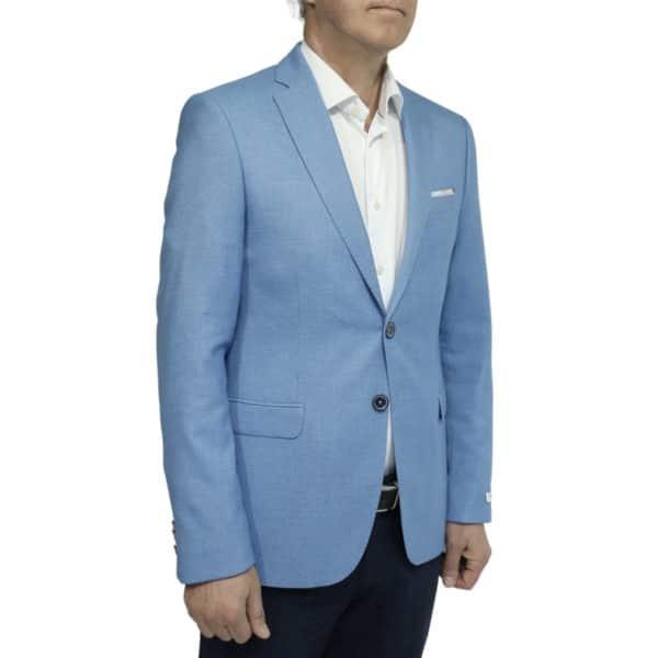 Giordano blue blazer jacket side