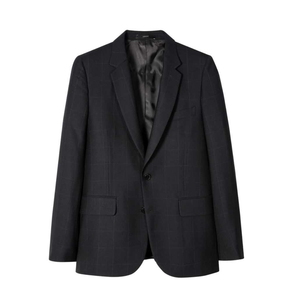 Paul Smith Suit Navy Check jacket