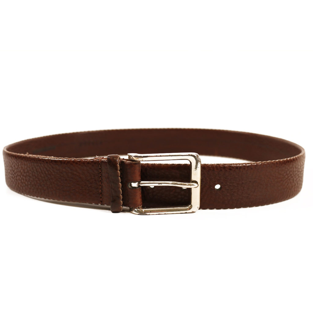 Warwicks brown leather belt2